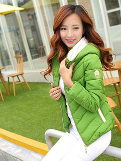 Individual Long Sleeve 3 Cozy Solid Color Zip Up Coat Vertical Pocket Slim Wear Hooded Collar Plus Size Coat