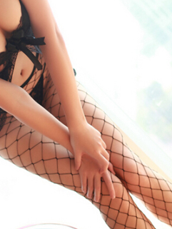 Korean Night Club Wear Skinny Legging Sexy Hot Hollow-out Net Design Cozy Solid Color Legging