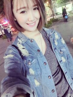 Korean Slim Wear All Match Casual Pure Color Chic Broken Hole Denim Jacket Lapel Button Pockets One Size Jacket