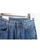 2014 Casual Baggy Jeans Hole Skinny Mid Waist Denim Jeans 26-30