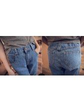 2015 Brand New Loose Fitting Ninth Harem Pants Empire Waist Springy Easy Matching Harem Pants