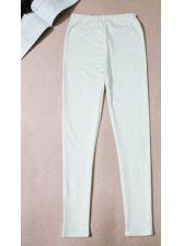 2014 Hot Selling Women Leggings Long Pants Skinny Thicken PU White Leggings