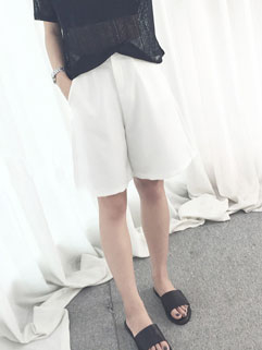 BF Style Loose-fitting Zip Up Wholesale Palazzo Pants