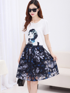 Hot Sales Classical Brand Hot Drilling High Quality Floral Printed OL Korean Women Suit