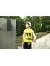 Korean Fashion Style Loose Vest Letter Printed Latest Summer Design