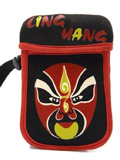 Chinese Style Peking Opera Mask Cheap Bags