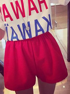 Korean Fashion All Match Boot Cut 3 Color Pockets Women Hot Pant