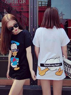 New Arrival Donald Duck Short Sleeve Cheap Cotton T shirt