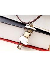Latest Design Couple Necklaces Korean Style Metal Little Girl Fashion Popular