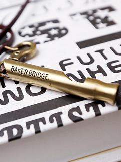 2015 Latest Design Necklaces Korean Style Metal Whistle Fashion Cool