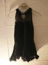 See-through Lacework Halter Neck Cheap Dress Sexy Dress