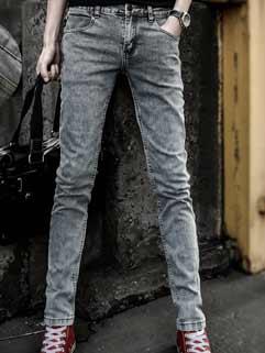 2015 Latest Design Men Jeans Japanese Style Slim Straight Fashion Cool