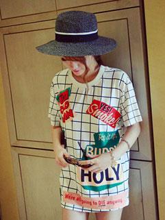 Wholesale Cheap Fantasy Printed Casual Women T-Shirt