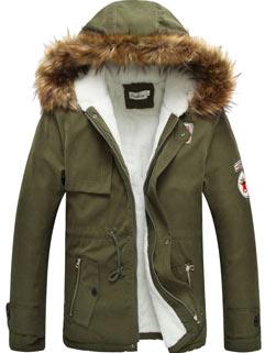 Latest Design Men Coat Street Style Fashion Handsome Slim Keep Warm Coat