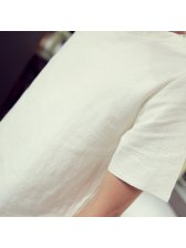 2015 Latest Design Men Suit Loose Short Sleeve Active Young Solid Color