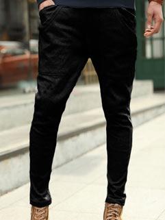 Latest Autumn Design Men Pants Japanese Style Straight Fashion Drawstring Up
