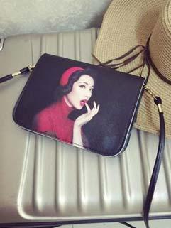 All Match Vintage Beauty Little Single-shoulder Bag