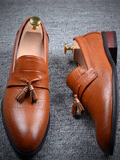 2015 Latest Design Men Shoes Formal Breathable Handsome Suitable For Party
