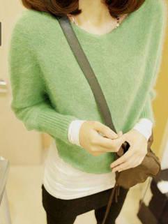 Korean Style Modern Design 3 Color Long Sleeve Cardigan For Women