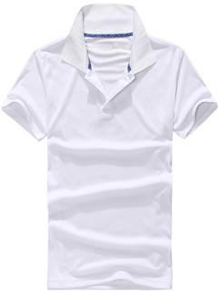 2015 New Fashion Couple POLO Shirt Fashion White Active Young Clothing