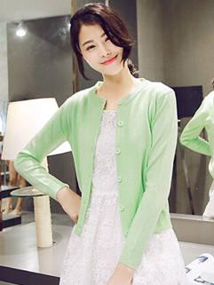2015 Latest Design Women Knitting Cardigan Korean Style Casual Pretty Coat