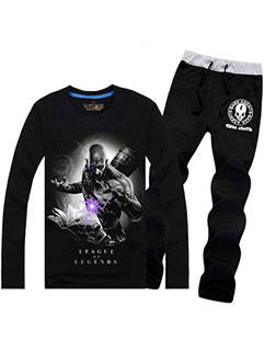 Classic Games LoL Men Suits Series Loose Casual Ryze Printed