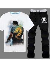 2015 New Arrival Men Suit LOL The Decendants Of Dragon Lee Sin Printed