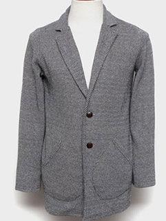 Latest Design Men Coat Korean Style Loose Casual Gray Big Pockets