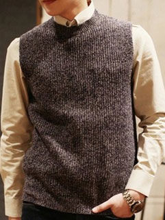 2015 New Arrival Men Tank Casual Handsome Warm Comfortable Knitting Clothing