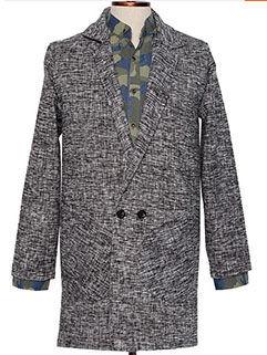 2015 New Fashion Men Coat Street Style Loose Handsome Gentlemen