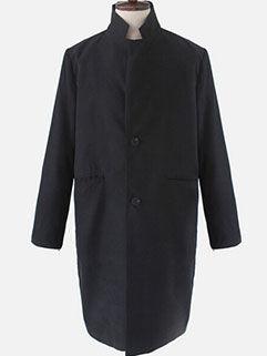 Latest Autumn Design Men Coat Street Style Loose High Neck Fashion Vanguard