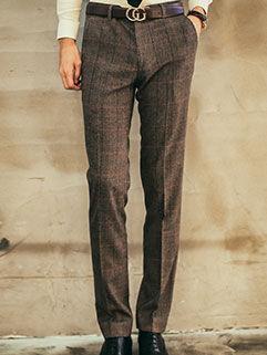 2015 Workman Style Men Pants Slim Fitness Handsome Khaki Pants