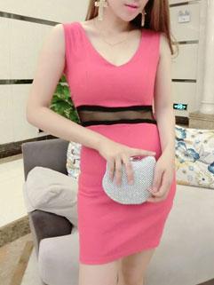 Fashion Design Women Backless Mini Cocktail Dresses