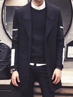 2015 Latest Design Men Coat Street Style Fashion Handsome Letter Printed