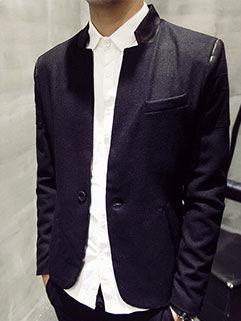 2015 Autumn Design Men Coat College Style Fashion Handsome Personality