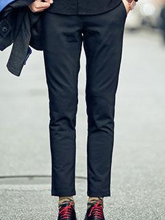 2015 Hot Sale Men Pants London Style Fashion Slim Fitness Black Clothing