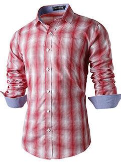Handsome Men Shirt 2015 New Design Workman Style Slim Fit Ink Printed