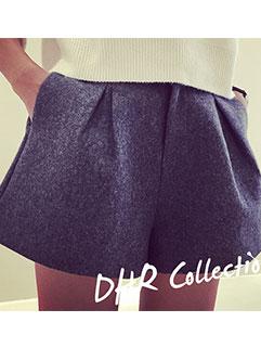 New Fashion Women Short Pant Street Style Casual Dark Gray Shorts