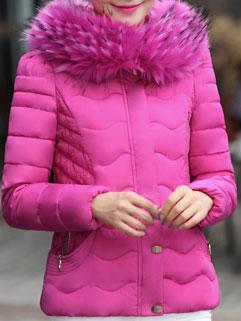 New Fashion Women Long Sleeve Zipper Up Hooded Trench Coat