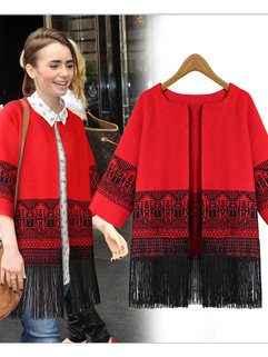 Fashion Cute Women O-Neck Korean Style Going Out Cardigan Sweater