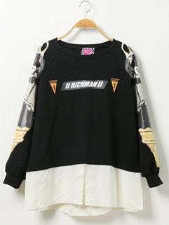 Simple Design Long Sleeve Korean Style O Neck Printing Cute Hoodies