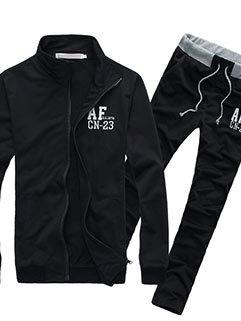 Low-cost Men Long Sleeve Outdoor Solid Color Thicken Warm Sport Activewear