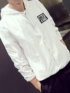 Factory Outlet Men Long Sleeve Hooded Collar Outdoor Slimming Sunproof Coat