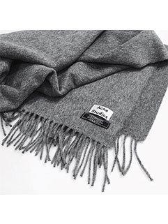 European Brand Unisex Solid Fringe Winter Warm Star Style Scarves