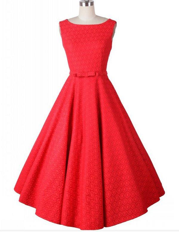 Chic Ball Gown Knee-length Sleeveless Dress
