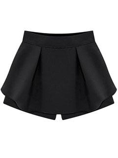 Hot Sale Women Solid High-waist Fashion Short Pants