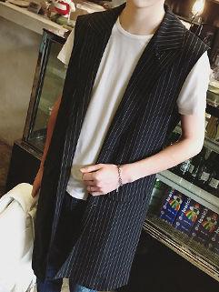 Fashion Men Chic Printing Sleeveless Waistcoat