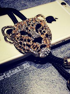 Court Style Men Leopard Shape Nice Necklaces