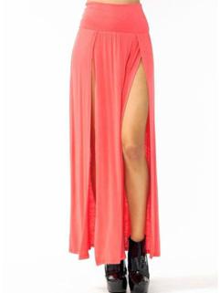 Wholesale Cheap Side Slit Long Skirt