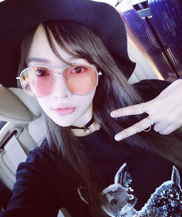 Hot Sale Fashion Transparent All Match Sunglasses